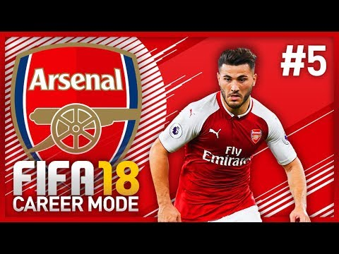 AWAY TO CHELSEA! FIFA 18 ARSENAL CAREER MODE - EPISODE #5