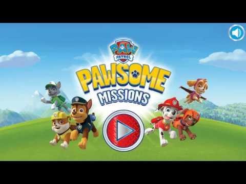 Мультик игра Щенячий Патруль: Щенячьи миссии (PAW Patrol Pawsome Missions)