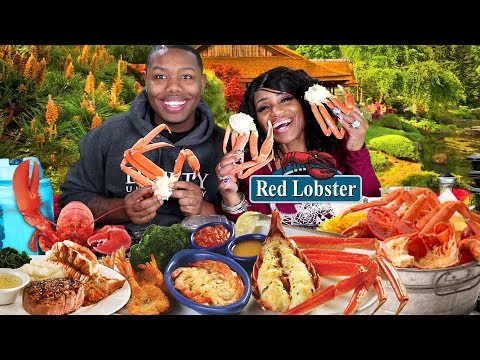Red Lobster Mukbang with ZaddyChunkChunk