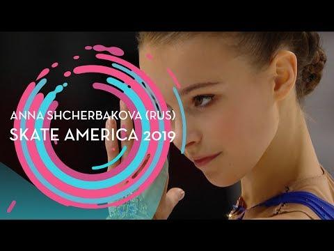 Anna Shcherbakova (RUS) | 1st Place Ladies | Free Skating | Skate America 2019 | #GPFigure