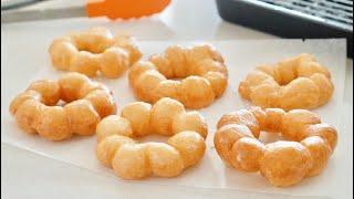 Mochi Donuts (5-Ingredient Pon De Ring) Recipe | OCHIKERON | Create Eat Happy :)