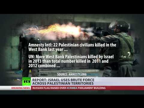 War Crimes? Israel uses brute force across Palestinian territories - report