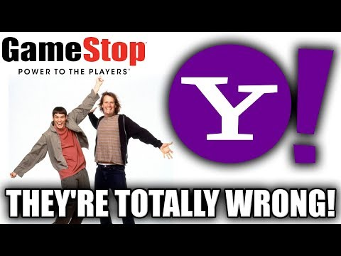 GameStop Can't Be Saved. Don't Listen To Yahoo Finance...