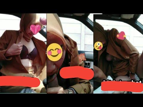 Viral...!!! Video Mesum Syur Wanita Berseragam PNS JABAR Di Dalam Mobil