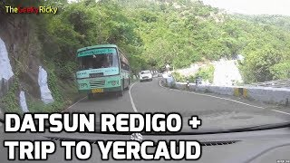 Datsun RediGo - Trip to Yercaud - Part 1