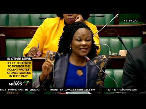 Public Protector's office presents 2017/2018 financial figures to Parliament