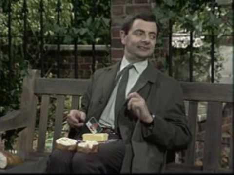 Mr Bean The Park Bench Youtube