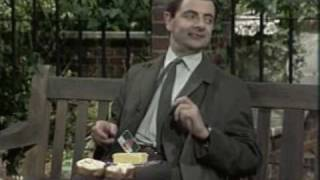 Mr. Bean The Park Bench