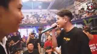 Quang Tèo vs Kick - Quang Tèo bẻ gãy cổ Kick | VBR