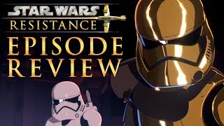 Star Wars Resistance Season 1 - The Children from Tehar Episode Review