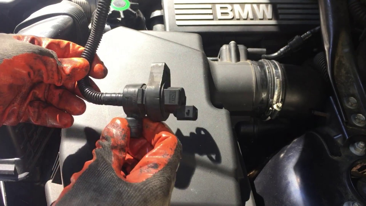 Purge Valve Replacement 2008 BMW X3 Code P0444