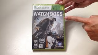 Watch Dogs (Xbox 360) Unboxing