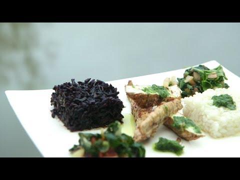 Recette : aiguillettes de poulet et riz camarguais - Météo à la carte