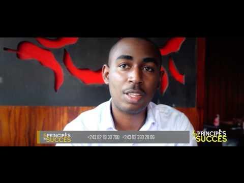 Sa startup excelle dans le e-commerce en RDC, il partage quelques secrets. - Les Principes du Succès