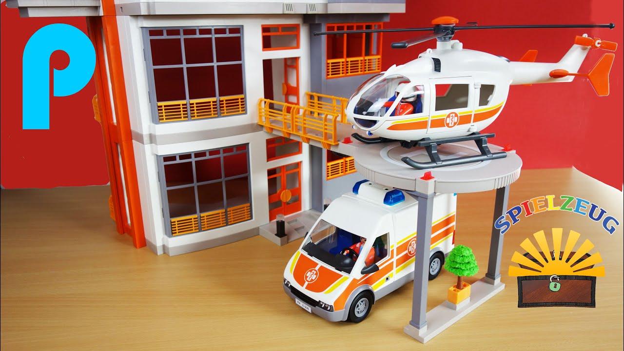 hubschrauber landeplatz kinderklinik 6445 playmobil city
