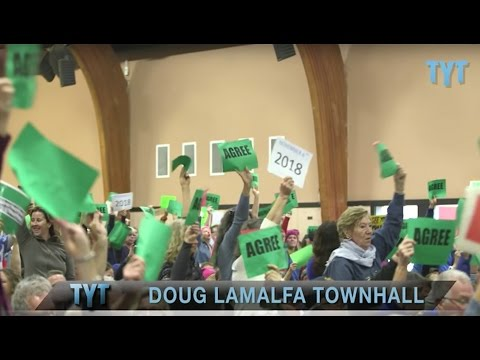 Republican Actually Talks To Constituents At Town Hall?!
