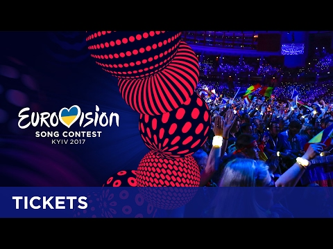 Get your tickets for the Eurovision Song Contest!