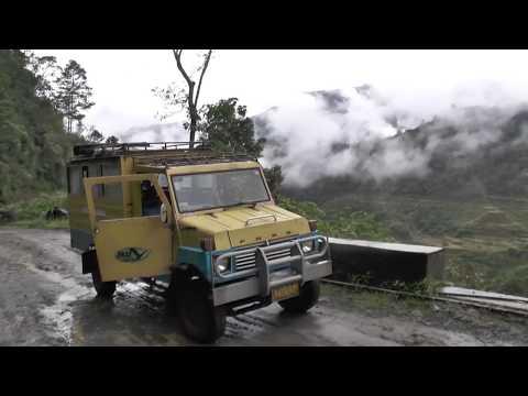 Jeep-Tour through Banaue rice terraces