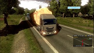EURO TRUCK SIMULATOR 2 HEAVY WEIGHT MOD || OVER SIZED LOAD