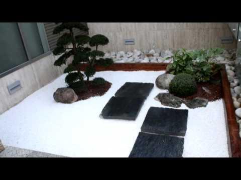 jardin japones moderno youtube