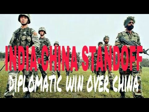 doklam standoff ended now,india diplomatic win over china .