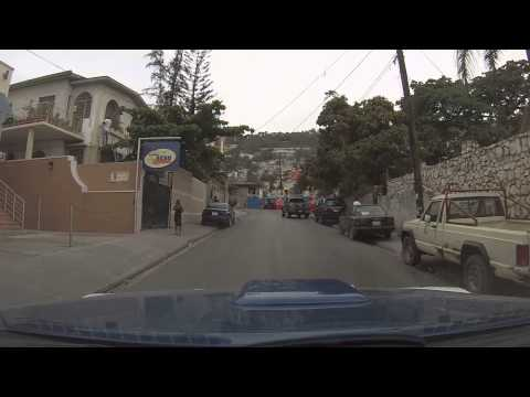 Port-au-Prince, Haiti - Driving Through Petion-Ville to Place St. Pierre