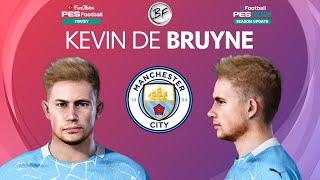 PES 2021 Kevin De Bruyne Face Manchester City PES 2020
