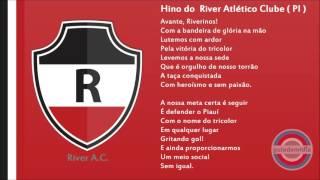 Baixar Hino do River Atlético Clube ( PI ) | Oficial