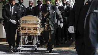 Похороны Джорджа Флойда прошли в Хьюстоне