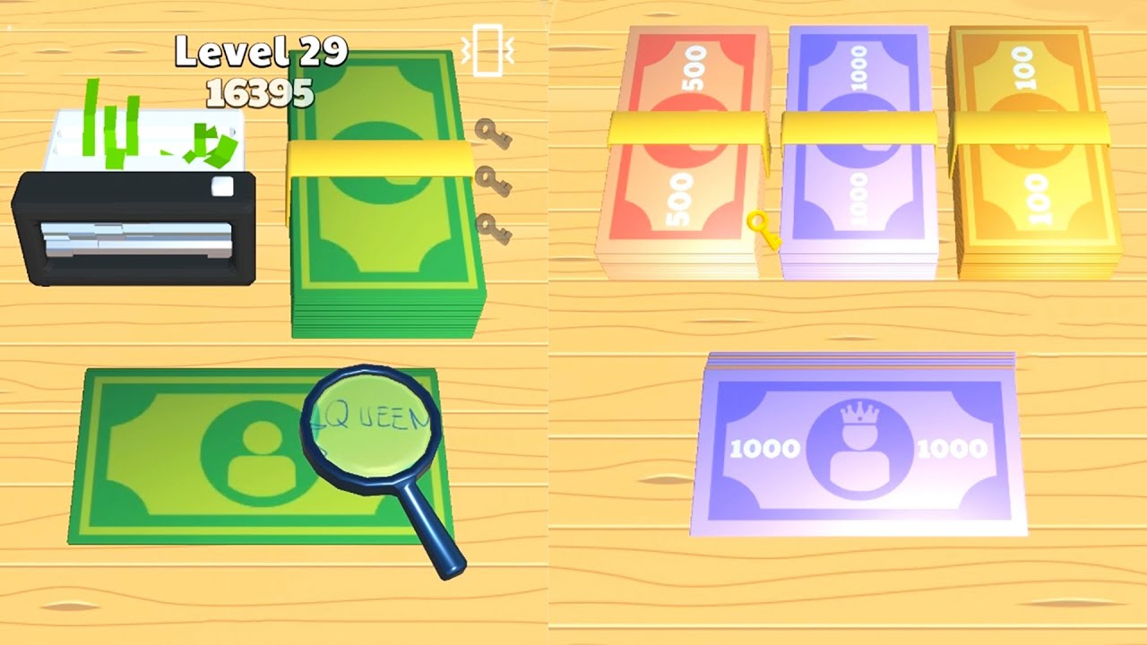 Money Buster - ASMR Game / Android/iOS Gameplay