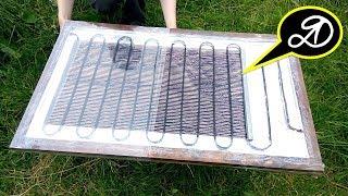 видео Солнечный коллектор своими руками