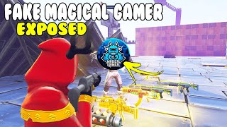 Fake Magical Gamer Exposed! 😱 in Fortnite (Scammer Gets Scammed) Fortnite Save The World