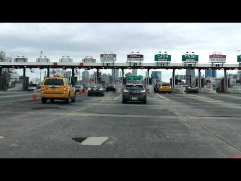 New Jersey Turnpike - Newark Bay Extension (Exits 14, 14A, 14B, 14C) eastbound