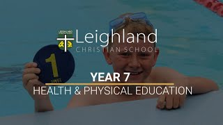 Year 7 -  Health and Physical Education