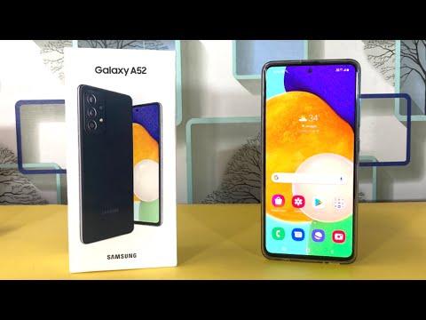 Samsung Galaxy A52 Unboxing   UBXTech