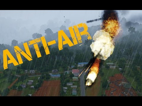 ARMA 3 - Anti Aircraft Missile VS Plane!