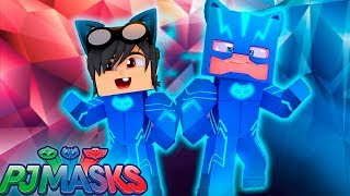 ROUBEI AS HABILIDADES DO MENINO GATO DOS PJ MASKS - WHO´S YOUR FRIEND? Minecraft thumbnail