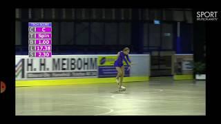 Semenova Cadet SP Europe Championship 2019 Чемпионат и первенство Европы2019 по фигурному катанию