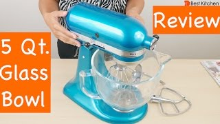 KitchenAid 5-Qt. Artisan Design Series with Glass Bowl Review
