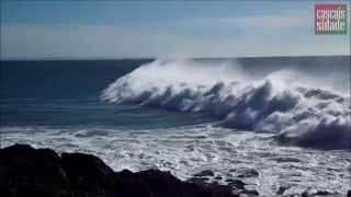 Storm. Атлантический океан.
