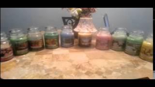 Yankee Candle, Housewarmers And 2014  Sas List