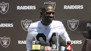My First Official Interview With The Raiders (OTA Vibes)