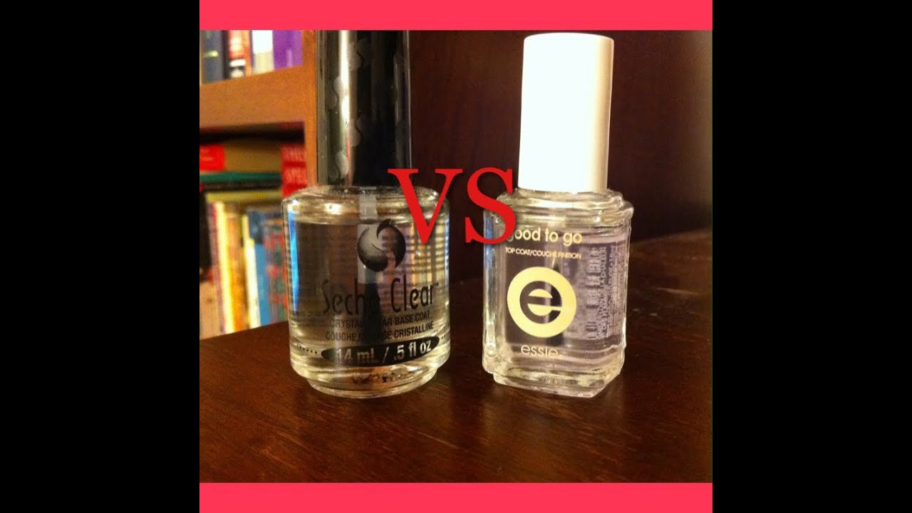 Product Review: Seche Vite vs. Essie\'s Good to Go - YouTube