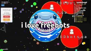 Agario protocol 20 bots