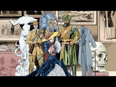 CGR Comics - THE LEAGUE OF EXTRAORDINARY GENTLEMEN VOLUME ONE comic review
