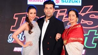 Show Launch of India's Got Talent With Karan Johar, Malaika Arora, Kirron Kher