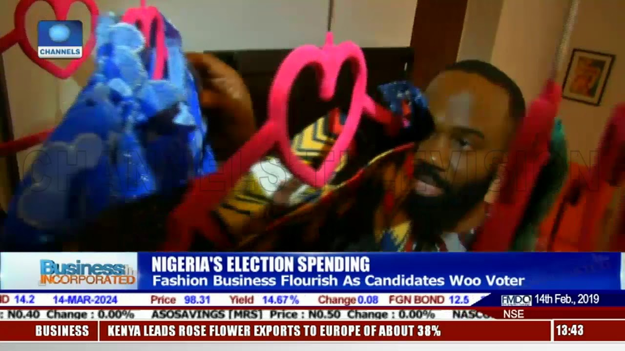 e5426dcb Nigerian Fashion Industry Booms As Politicians Woo Voters In Traditional  Attires