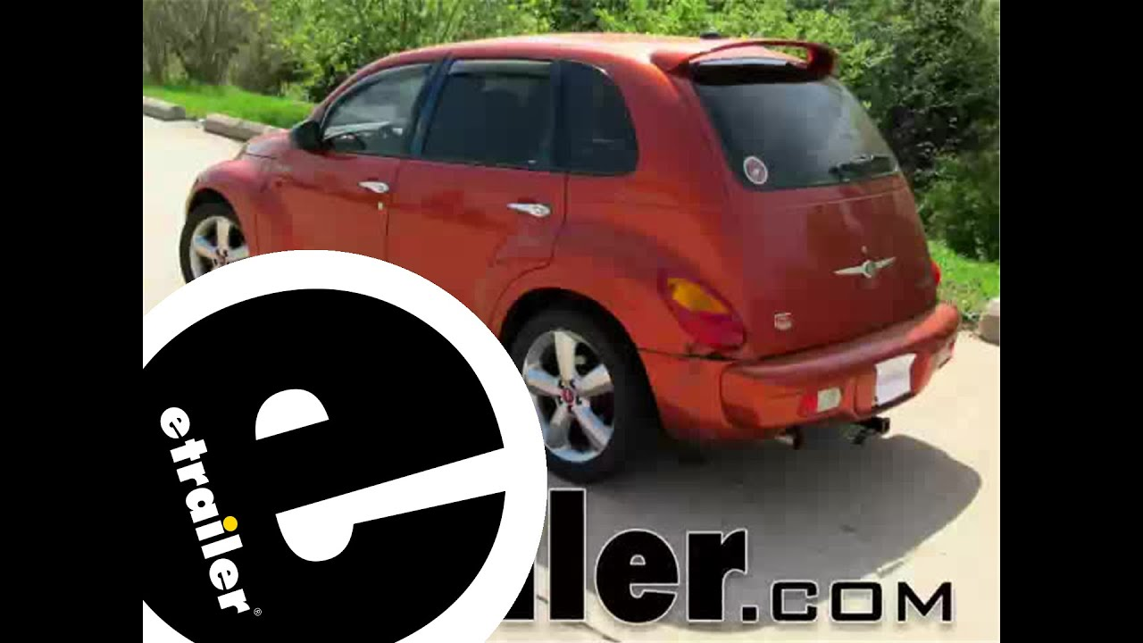 hight resolution of trailer wiring harness installation 2003 chrysler pt cruiser etrailer com