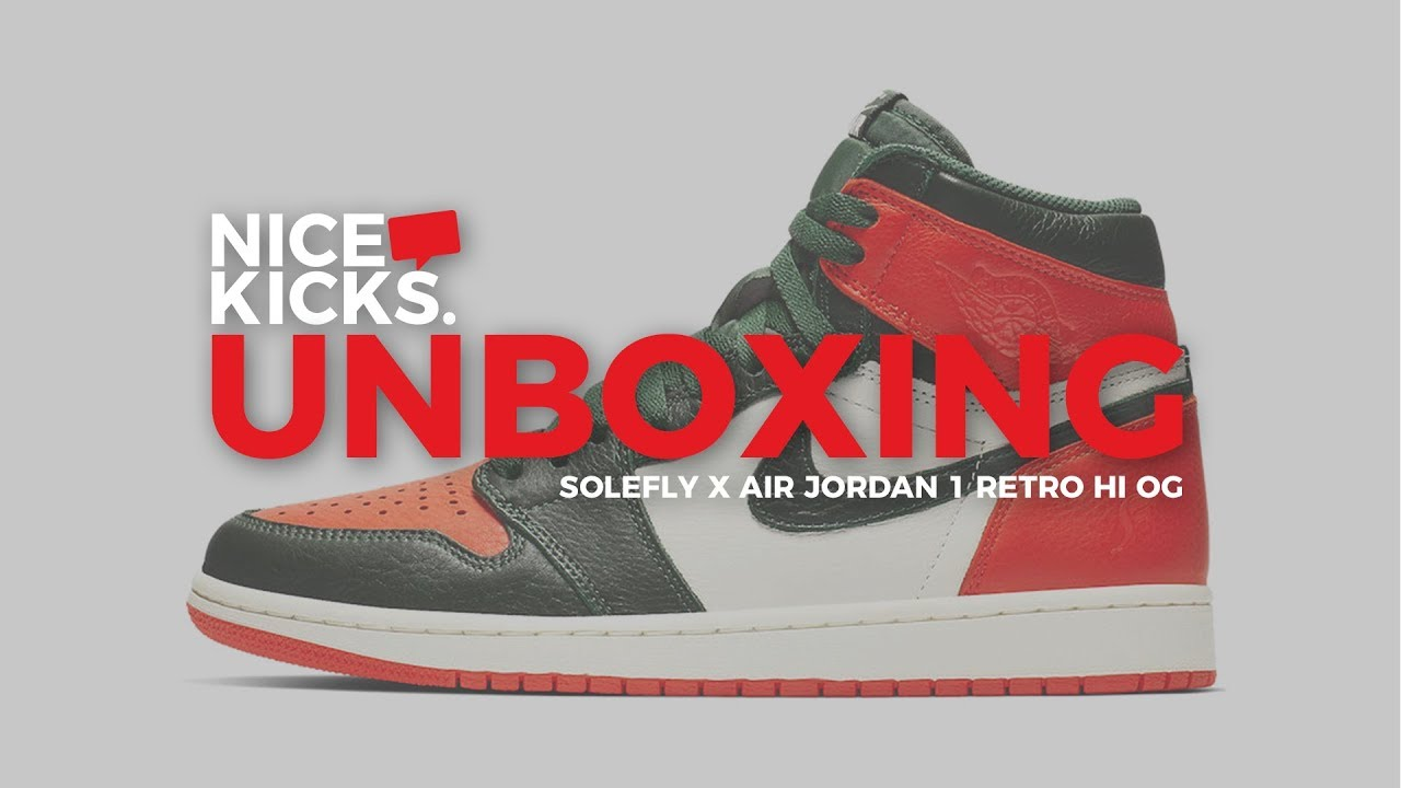 a58208ba6ab Unboxing the Solefly x Air Jordan 1 - YouTube