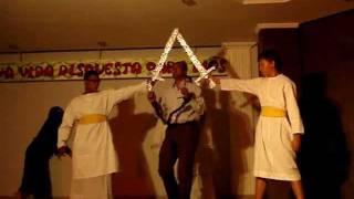 IPUC-A.Satanas vencido esta// En el Nombre de JESUS//EN-HACOREIPUC// Miguel Cassina Obras de teatro